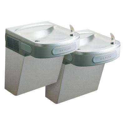 Versatile Wall Mounted Bi-Level ADA Drinking Fountain