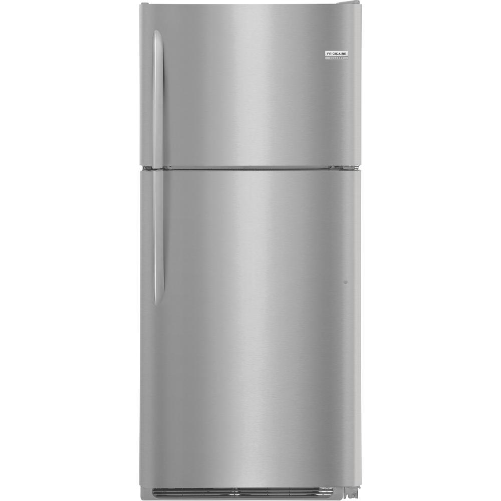 FRIGIDAIRE GALLERY 20.4 cu. ft. Top Freezer Refrigerator in Smudge Proof Stainless Steel