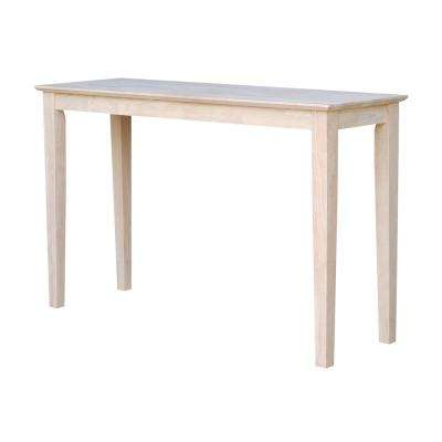 Merveilleux Shaker Console Table