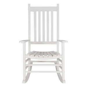 Bradley Maple Slat Patio Rocking Chair 200sm Rta The Home Depot