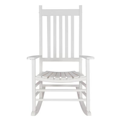Vermont White Wood Outdoor Porch Rocker