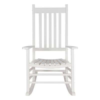 Cool Vermont White Wood Outdoor Porch Rocker Camellatalisay Diy Chair Ideas Camellatalisaycom