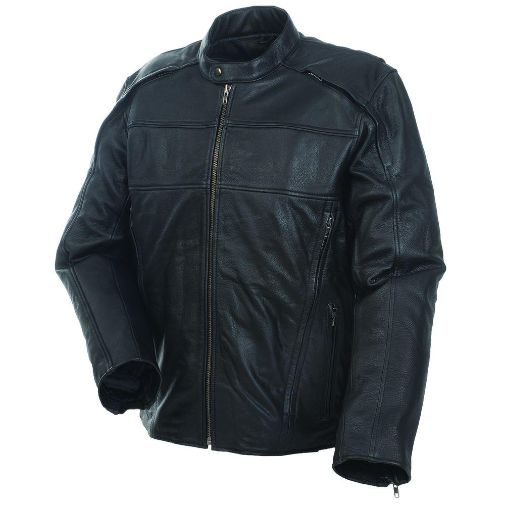 Mossi Mens Retro Premium Leather Size-38 Jacket-DISCONTINUED