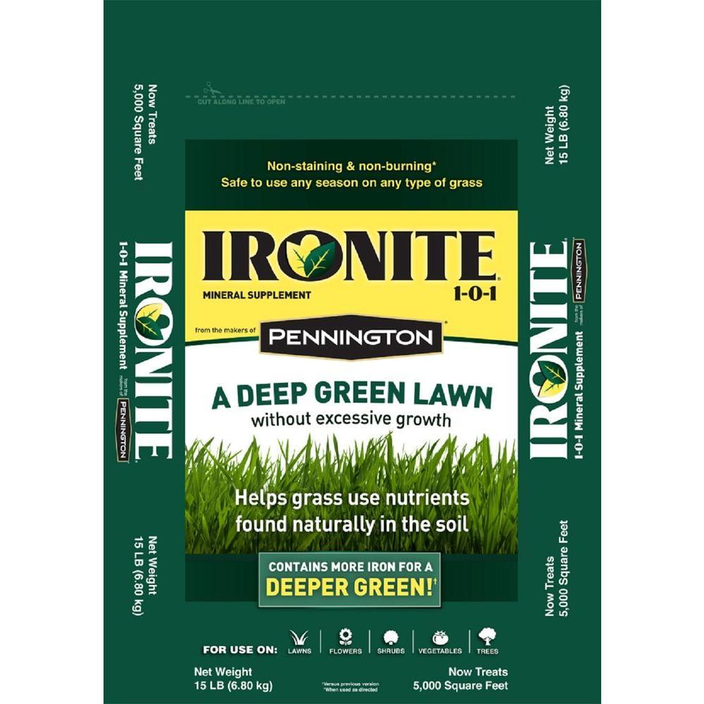 Ironite 15 lbs. 1-0-1 5M Fertilizer