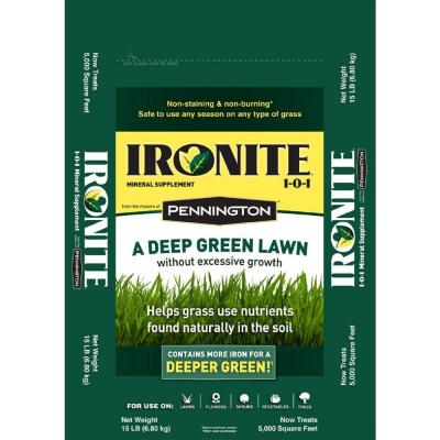 Ironite 30 lb. 1-0-1 Lawn Fertilizer-100524179 - The Home ...