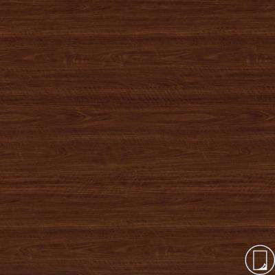 4 ft. x 8 ft. Laminate Sheet in RE-COVER Hampton Walnut with Premium FineGrain Finish