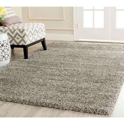 Milan Shag Gray 6 ft. x 9 ft. Area Rug