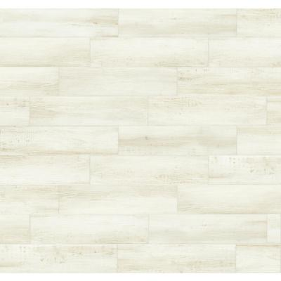 Chic Wood Creme 6 in. x 24 in. Porcelain Floor and Wall Tile (14 sq. ft./Case)