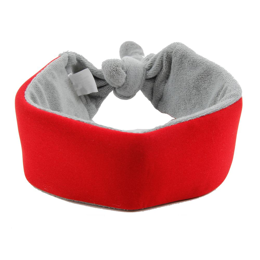 Red Neo-Breeze Flexible Terry Neoprene Ice Pack Insert Able and Adjustable