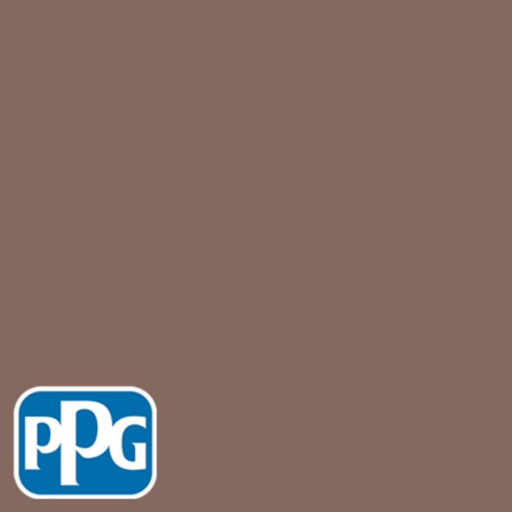 Ppg timeless 1 gal hdppgwn12u old leather book satin exterior one coat paint with primer for Best one coat coverage exterior paint