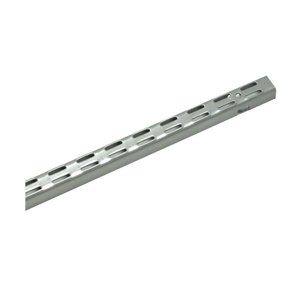 Maximum Load 48 in. Silver Shelving Standard