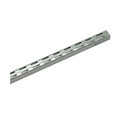 Maximum Load 48 in. Silver Shelving Standard