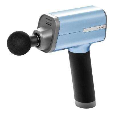 Otamic Series 5-Speed Massage Gun with 4 Replaceable Heads in Blue