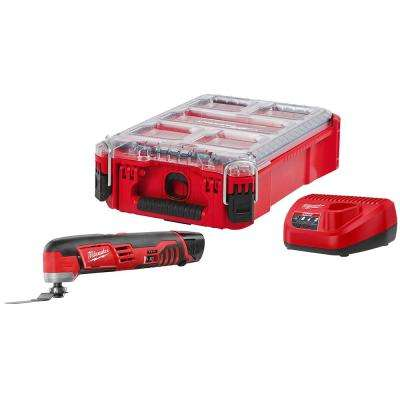 M12 12-Volt Lithium-Ion Cordless Oscillating Multi-Tool Kit with (1) 1.5Ah Battery, Charger and Packout Case