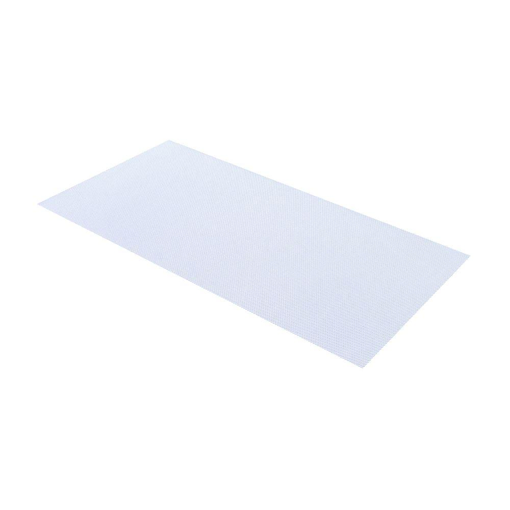 Plaskolite 23.75 in. x 47.75 in. Clear Polystyrene Light Panel