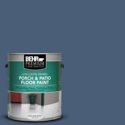 1 gal. #BIC-52 Loyalty Low-Lustre Interior/Exterior Porch and Patio Floor Paint