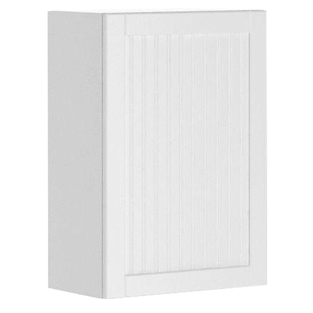 Ready to Assemble 21x30x12.5 in. Odessa Wall Cabinet in White Melamine