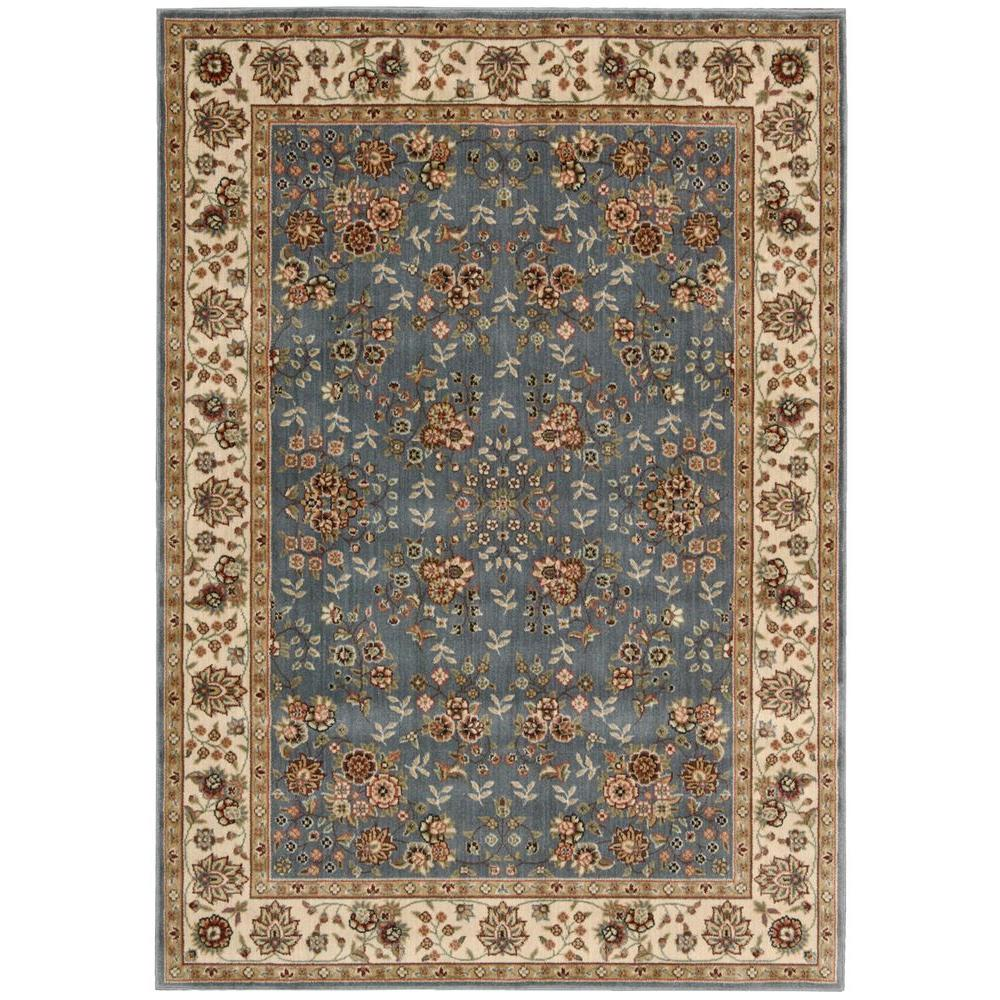 Persian Arts Light Blue 3 ft. 6 in. x 5 ft.