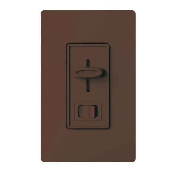 Skylark 300-Watt 3-Way Electronic Low-Voltage Dimmer - Brown