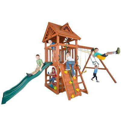 Acrobat Wood Complete Playset