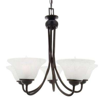 Drake 5-Light Oil Rubbed Bronze Chandelier