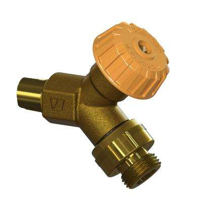 1/2 in. x 3/4 in. Combination Copper Sweat Mild Climate Brass Wall Hydrant with Single-Check Vacuum Breaker