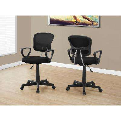 Black Multi-Position Kids Office Chair