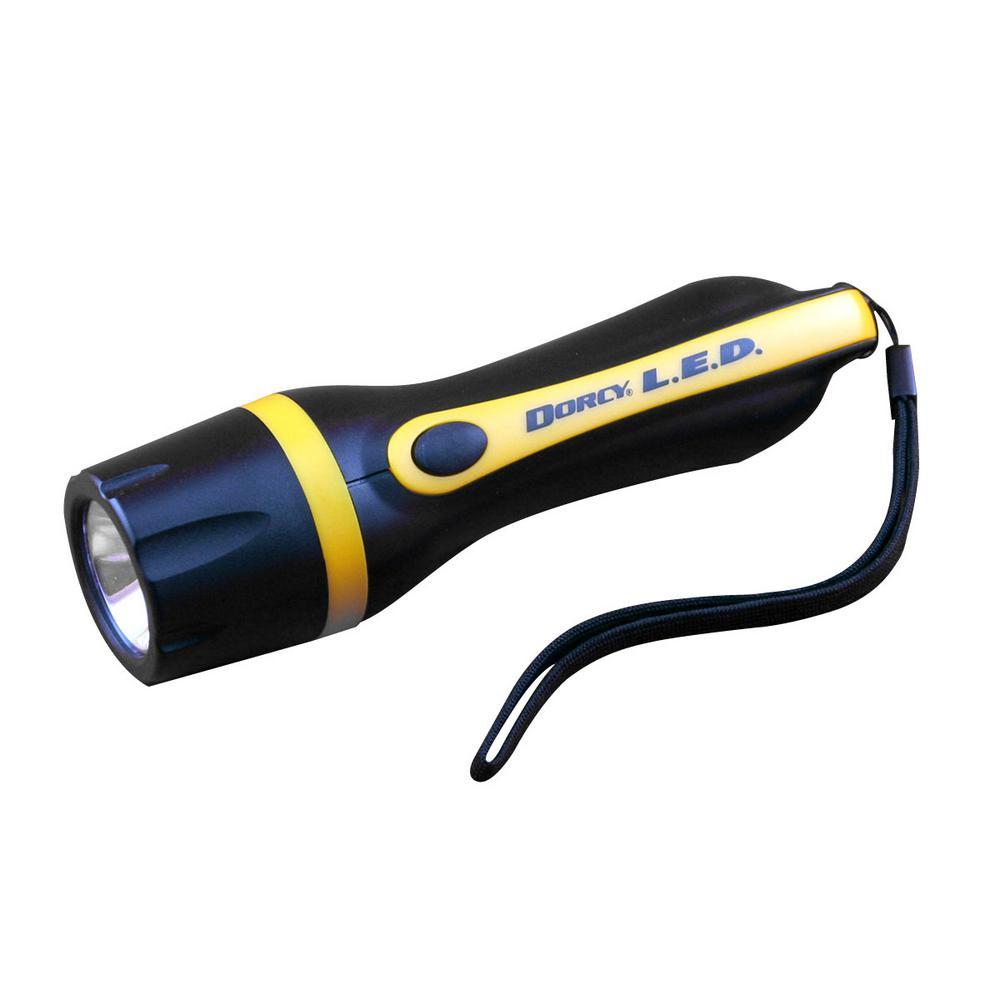 330-Lumens 3AAA Portable Flashlight