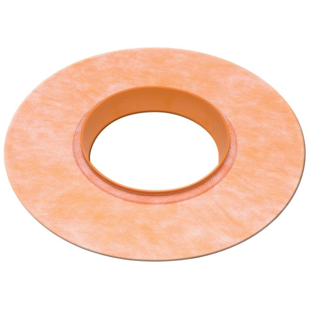 Schluter Kerdi-Seal-MV 4-1/2 in. Mixing Valve Seal with Rubber Gasket