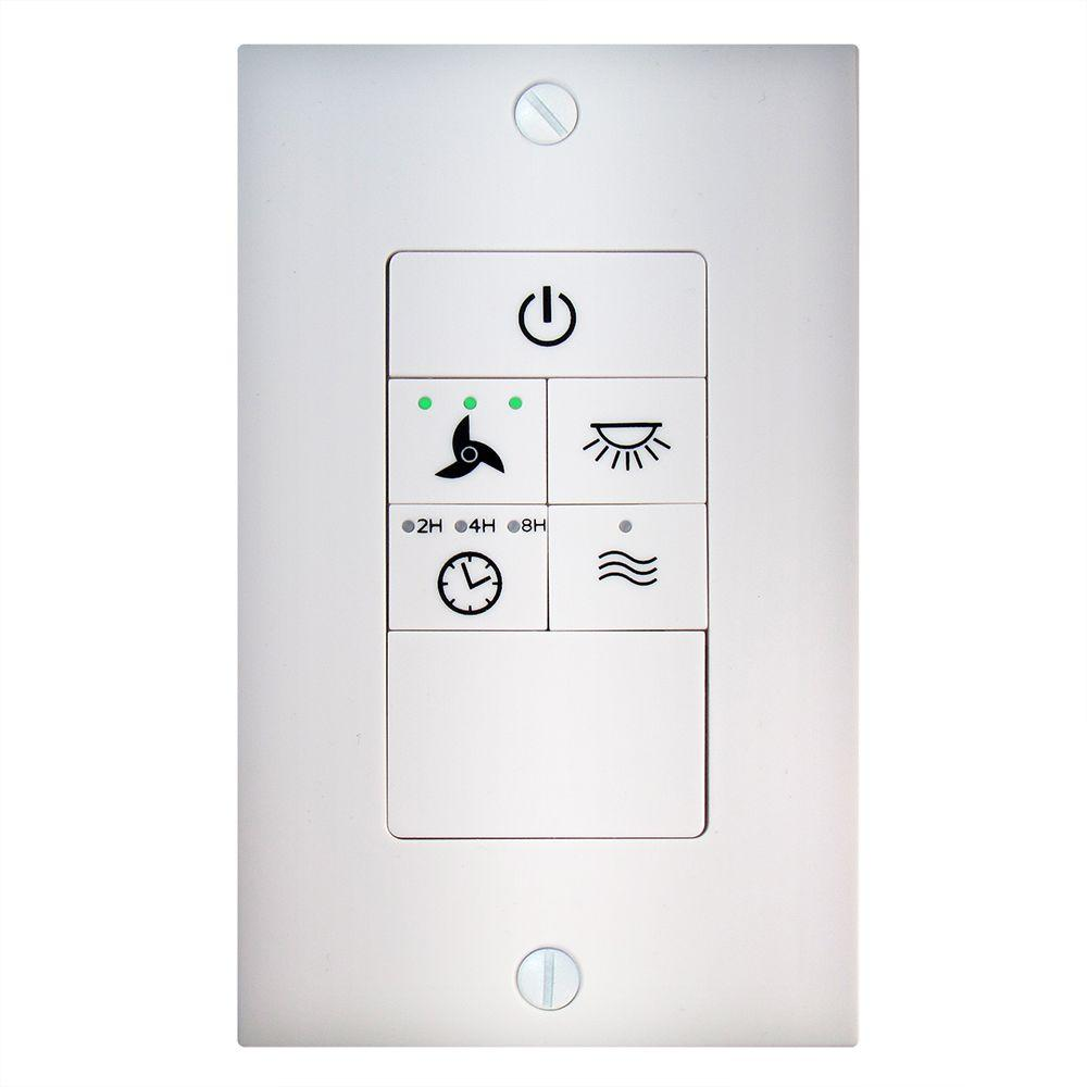 Hampton Bay Universal Ceiling Fan Wireless Wall Control 68109 The
