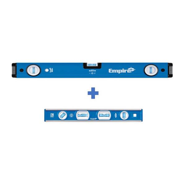 24 in. Box Level with 12 in. Magnetic Level