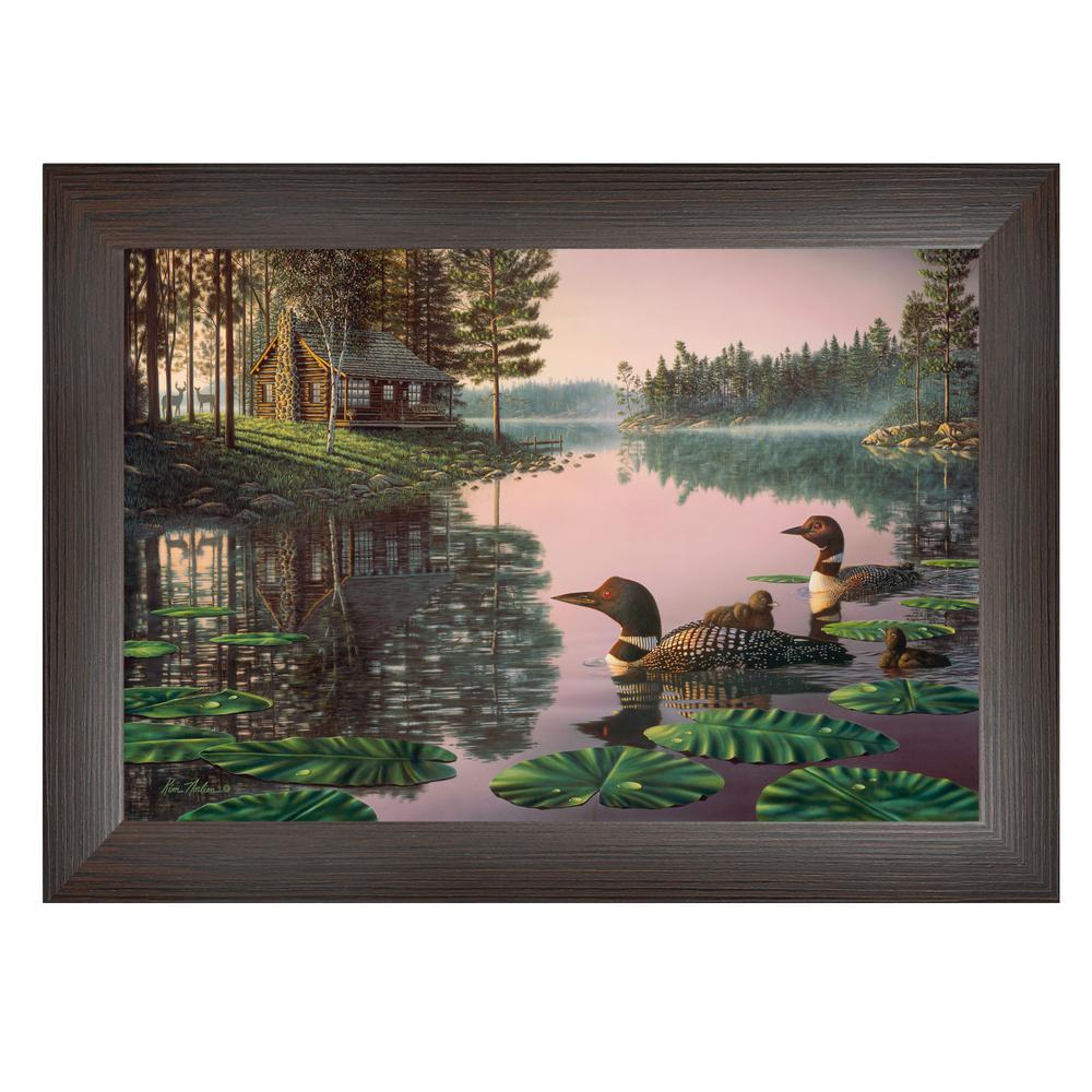 Trendy Decor 4u Northern Tranquility By Kim Norlien Framed Wall