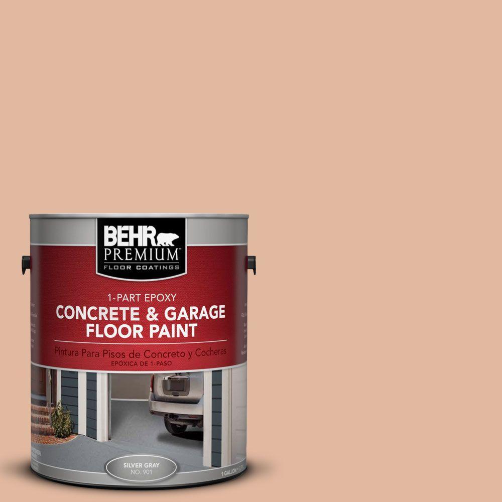 1-Gal. #PFC-06 Georgia Peach 1-Part Epoxy Concrete and Garage Floor Paint