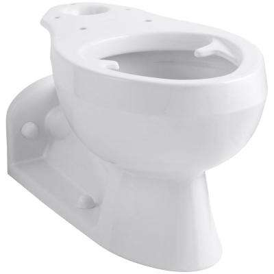 Barrington Elongated Toilet Bowl Only in White