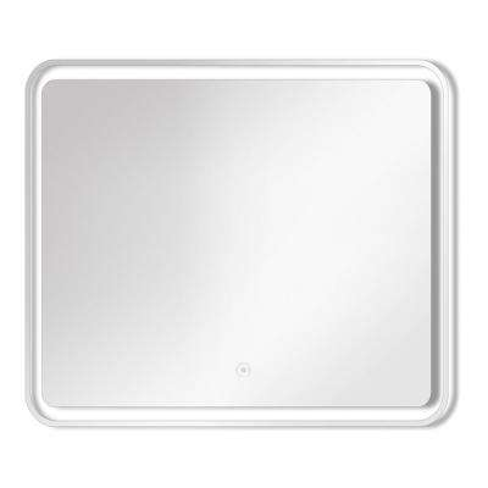 Gabriel 29.53 in. x 27.56 in. Single Frameless LED Mirror