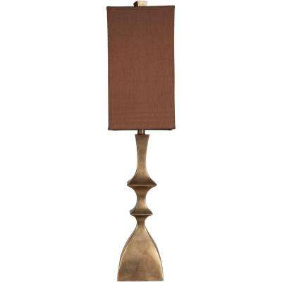 Kennelly 37 in. Aged Goldtone Indoor Table Lamp
