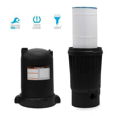 In-Ground 200 sq. ft. Cartridge Pool Filter