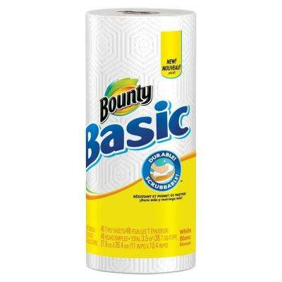 11 in. x 10.40 in. Paper Towels 1-Ply (48 Sheets Per Roll)
