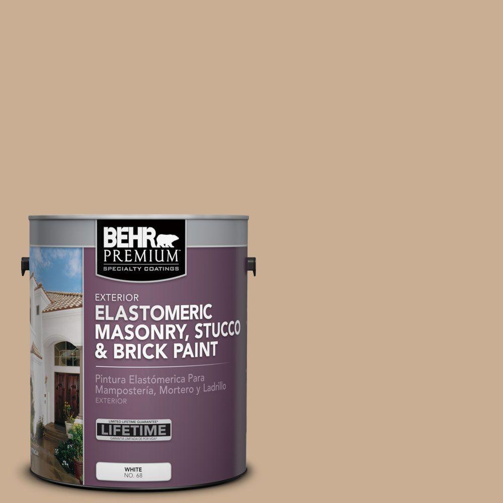 BEHR Premium 1 gal. #MS-16 Indian Cloth Elastomeric Masonry, Stucco and Brick Paint