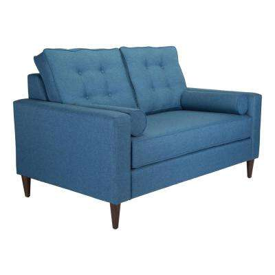 Morgan Blue Loveseat