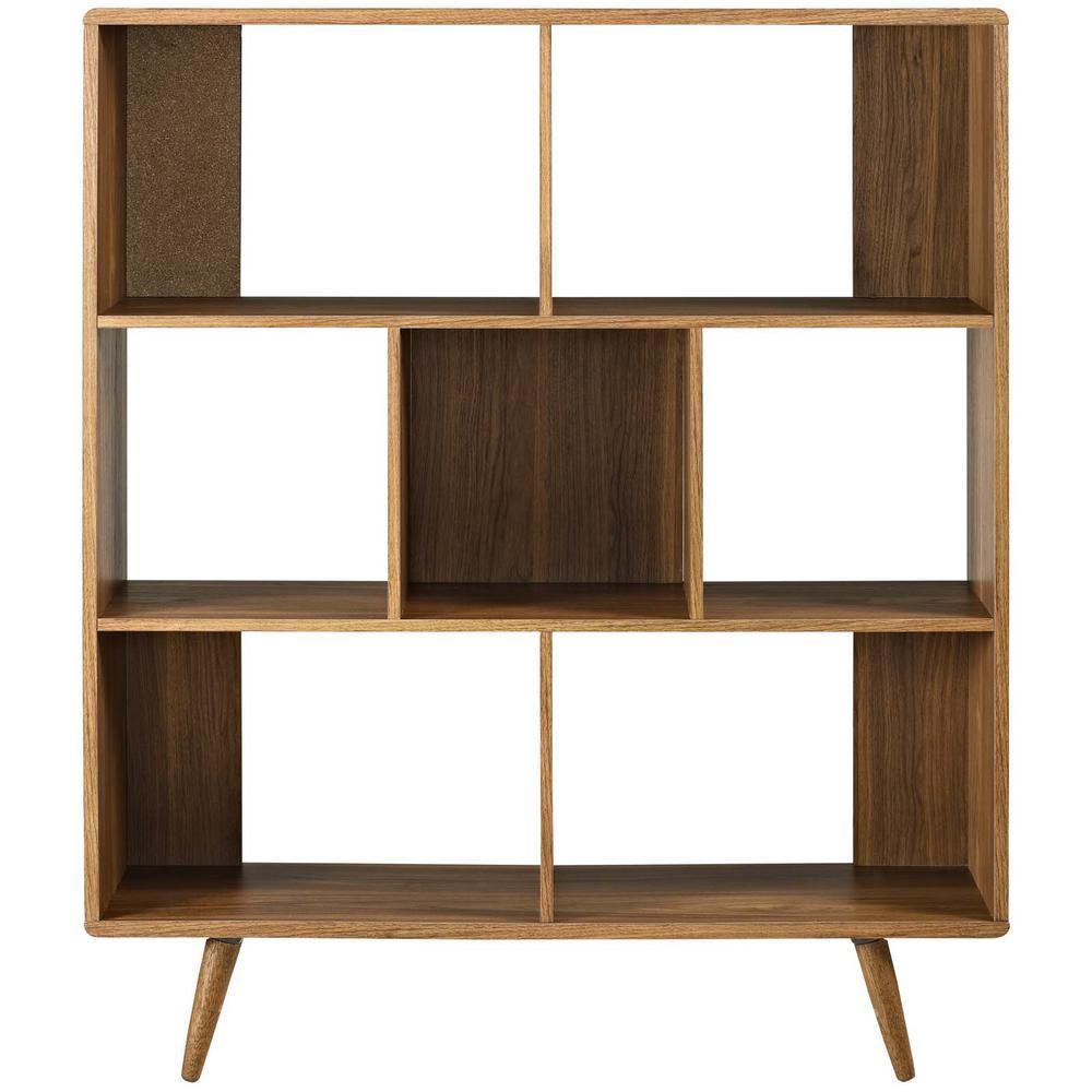 Transmit Walnut Bookcase