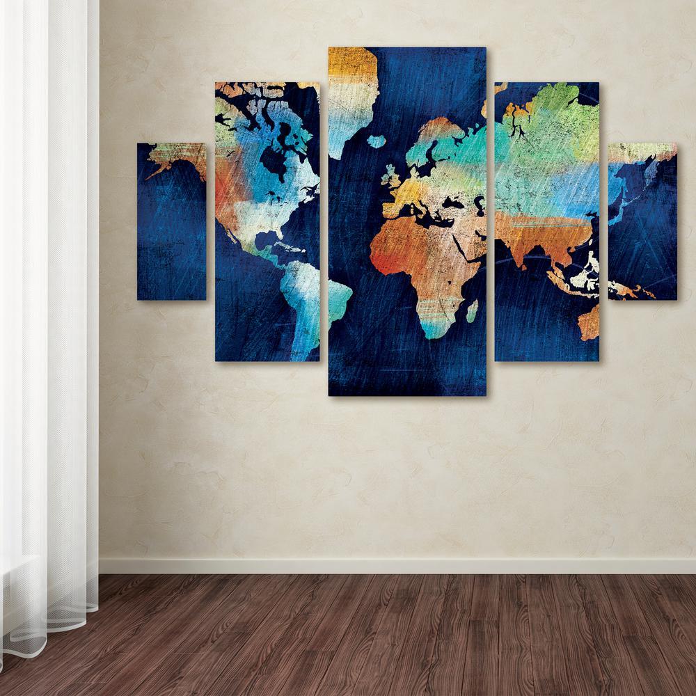 "40 in. x 58 in. ""Seasons Change"" by Michael Mullan Printed Canvas Wall Art"