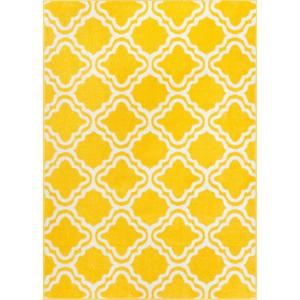 Well Woven Starbright Calipso Yellow 7 Ft 10 In X 10 Ft