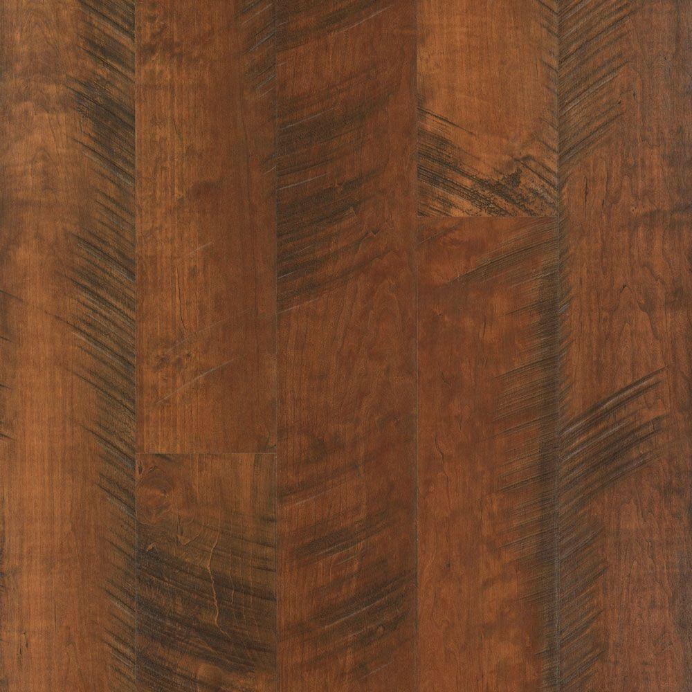 Outlast+ Waterproof Antique Cherry 10 mm T x 6.14 in. W x 47.24 in. L Laminate Flooring (16.12 sq. ft. / case)