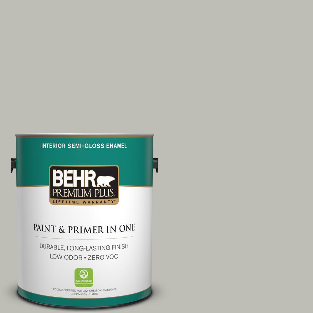 1-gal. #N370-3 Light Year Semi-Gloss Enamel Interior Paint