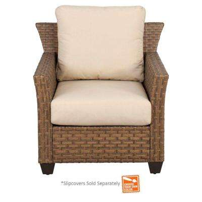 Tobago Patio Lounge Chair with Cushion Insert (Slipcovers Sold Separately)