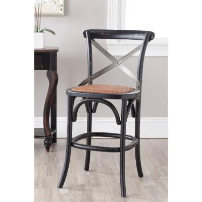 Eleanor 24.4 in. Hickory Bar Stool