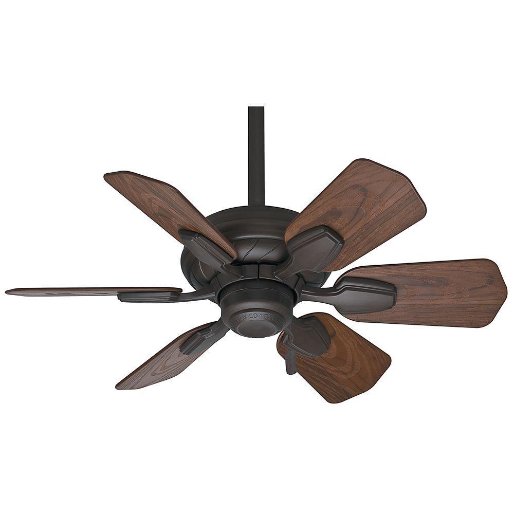 Wailea 31 in. Indoor/Outdoor Brushed Cocoa Bronze Ceiling Fan