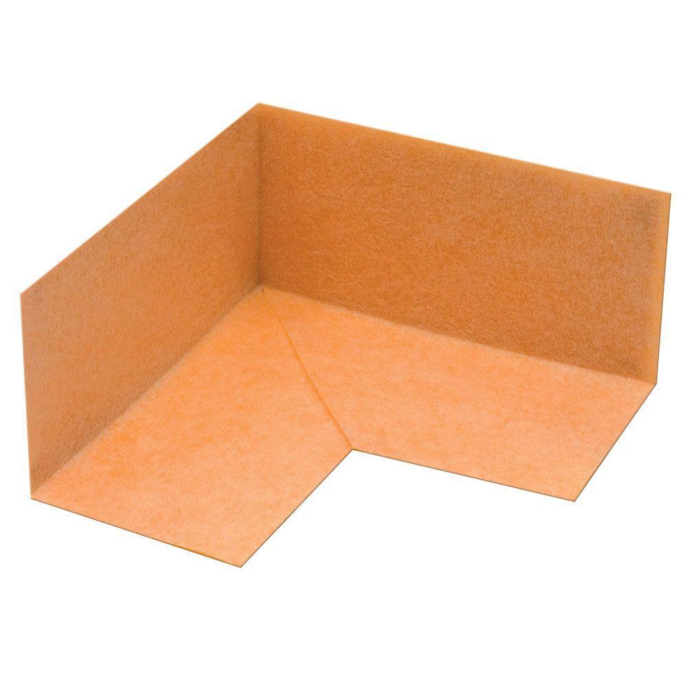 Schluter Kerdi-Kereck-F Pre-Formed 90° Waterproofing Inside Corners (10-Pack)