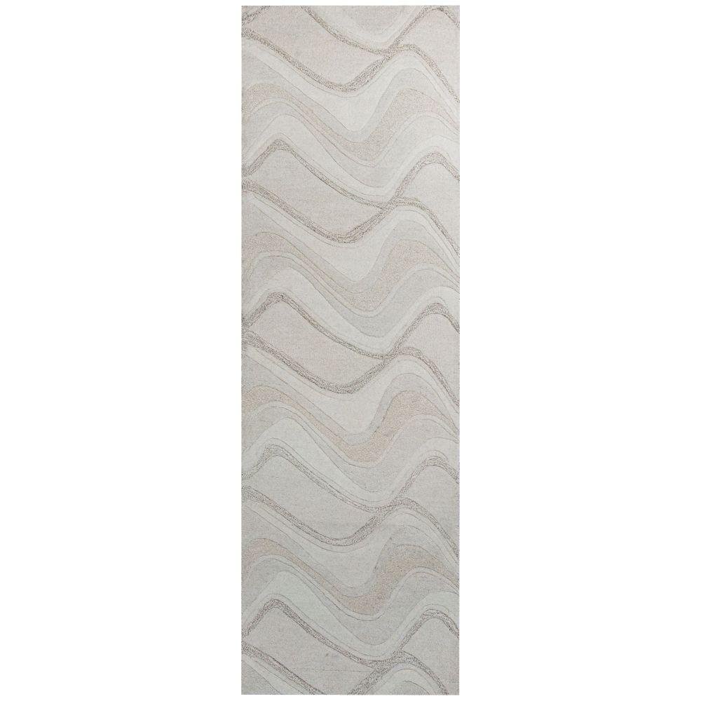 Soothing Waves Ivory 2 ft. 3 in. x 7 ft. 6